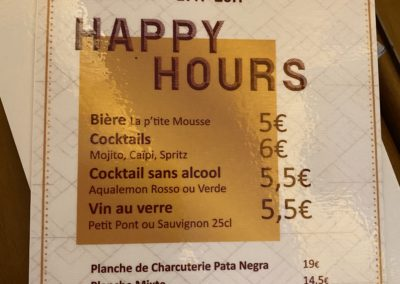 Happy Hour, Rubeo Monte, Montrouge